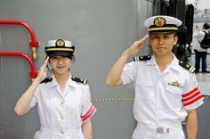 Marine Officer, Captain Hat, Hats, Fashion, Moda, Hat, Fashion Styles, Fashion Illustrations, Hipster Hat