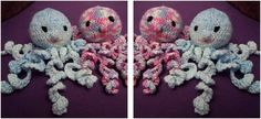 Adorable Knitted Preemie Octopus [FREE Knitting Pattern]