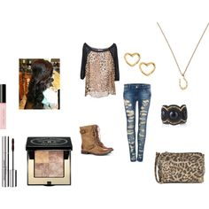 """print it"" by mercedesandhoss on Polyvore"
