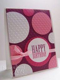 cuttlebug birthday card ideas -