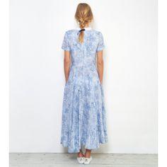 Blue Laura Dress - Fashion
