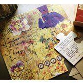 Puzzle Piece Card Set featured on Ann Voskamp's blog. Beautiful & unqiue stationary! Find it at: www.mymaryandmartha.com/ALBOE #maryandmartha #annvoskamp #puzzlecardset #faith