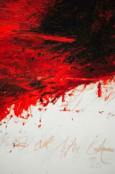 "cy twombly - A master Example for this Art Call: ""Pure Abstraction"" Art-Competition.net: Announces a call to artists for an Abstract Group Exhibition consisting of 10 artists. Submission Deadline: 09/15/2014 - www.art-competition.net"