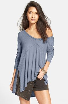 Free People 'Sunset Park' Thermal Top | Nordstrom