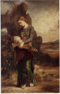 I understand this is an illustration of Heer Halewijn, a Dutch variation of Child #4: Lady Isabel and the Elf Knight