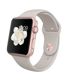 Apple Watch 42mm Rose Gold Aluminium Case with Stone Sport Band (Rose Gold Stone) Apple http://www.amazon.co.uk/dp/B015L6BZ38/ref=cm_sw_r_pi_dp_qpw0wb1HPR4B3