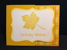 My Creative Corner!: Magnificent Maple Card