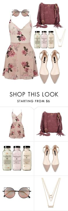 """""""Untitled #251"""" by kenzie-raye13 on Polyvore featuring Lipsy, Lucky Brand, Linda Farrow and Forever 21"""