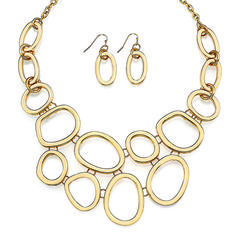 Honey Necklace and earring set #TraciLynnJewelry