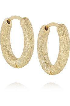 Carolina Bucci Huggy 18-karat Gold Earrings Bne6OB