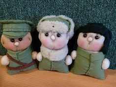 These little guys are from the history. They are members of the Hungarian People's Army. The guy the right (with black hat) is a tanker. The middle guy is in his winter uniform, and the last guy is an officer. If you want to know more about them search us on the facebook with the name of Hungarian Bear Force