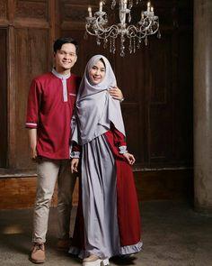 Baju Couple Muslim, Muslim Dress, Muslim Couples, Hijab Fashion Summer, Street Hijab Fashion, Muslim Fashion, Hijab Style Dress, Casual Hijab Outfit, Hijab Chic