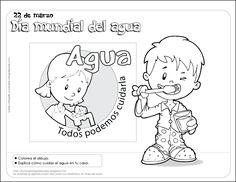 Fichas para preescolar: El Día Mundial del agua
