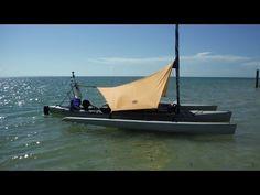 One Hobie Island Tarp Solution / Shade for Our Island