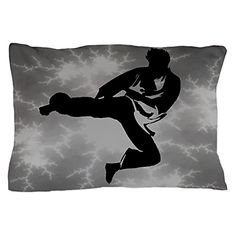 CafePress  Martial Arts Mens Pillow Case  Standard Size Pillow Case 20x30 Pillow Cover Unique Pillow Slip ** This is an Amazon Affiliate link. Check out this great product.