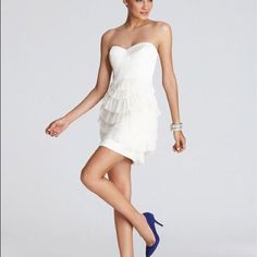 Bcbg Formal Strapless Dress