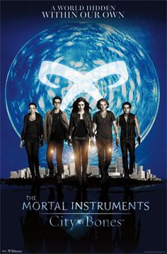 OMG!! Can't wait for this movie! Great books and amazing story line!! City of Bones in theatres August 23