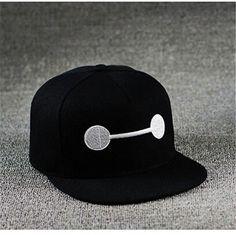 Big Hero 6 baseball cap for youth cute flat brim hats