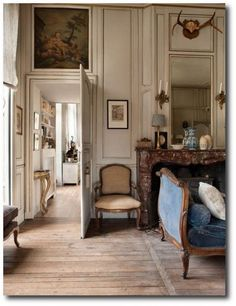 Pascale and Olivier's  beautiful 17th century property, in Champagne country east of Paris.