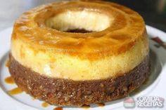 Receita de Pudim surpresa em receitas de doces e sobremesas, veja essa e outras receitas aqui!