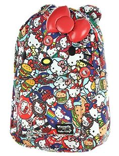 83b2192ac5 Loungefly x Hello Kitty Button AOP Backpack Multi