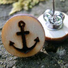 Holzschmuck Onlineshop  Passende Geschenke für jeden Anlass Shops, Cufflinks, Craft, Ideas, Laser Engraving, Stud Earring, Schmuck, Gifts, Tents