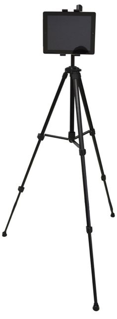 Mount your iPad, iPad mini, or other tablet to any standard tripod. Buy Now!