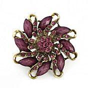 Vintage Flower Shape Resin Leaf Brooch(Random... – EUR € 4.59