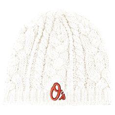 Baltimore Orioles '47 Women's Shawnee Knit Beanie - Natural - $15.99