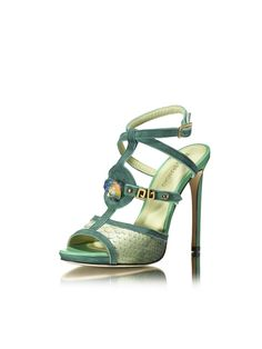 Inspiration High Heel Python Sandals  Python... The most sublime skin to work... The mere allusion says it all... REF. 4813/00 #PAULOBRANDÃO