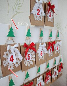 Christmas Crafts, Christmas Decorations, Xmas, Christmas Tree, Holiday Decor, Merry And Bright, Holidays And Events, Advent Calendar, Diy And Crafts