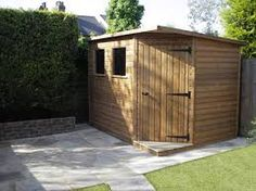 7 x 7 waltons tongue and groove wooden corner shed garden buildings tiny houses and pallets - Corner Garden Sheds 7x7
