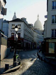rue Norvins - Paris 18e