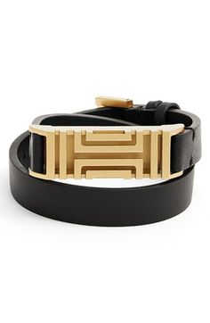 Tory+Burch+for+Fitbit®+Leather+Wrap+Bracelet+available+at+#Nordstrom