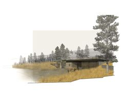RENDERING - MW Works   tractor shed renovation rendering