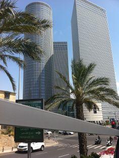 Tel Aviv Tel Aviv, Israel, Skyscraper, Multi Story Building, Skyscrapers