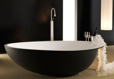 Modern Black and White Bathroom Fixtures by Mastella - Kitchens & Bathrooms Perth