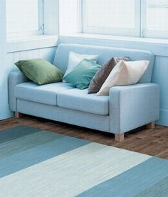 Perfectly Home Rugs - Chandra Rugs India Solid Rug Blue 217IND9-P, Cheap rugs, inexpensive, interior, blue, solid, striped, casual, discount, free shipping http://www.perfectlyhomerugs.com/servlet/the-34/Blue/Detail