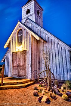 Silent Night - The Superstition Mountains Museum, Arizona