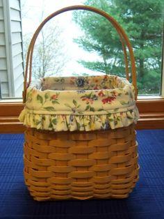 Spring basket longeberger