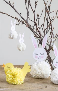 DIY – Easter decorations for the entire family - with free template