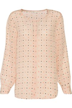 JOIE WILMINGTON PRINTED SILK BLOUSE £92.50 http://www.theoutnet.com/product/938687
