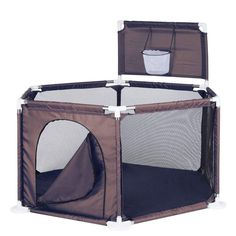 Baby Playyard Toy Tents Infant Playpens Safety Household Protective Fence Assembled House Play Yard Coffee ** Check out this great product. (This is an affiliate link) Pet Gate, Play Yard, Playpen, Best Wear, Child Safety, Easy Install, Tents, Infant, Household