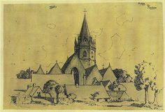 Adolf Hitler painting drawing sketch (work of art by Nazi … | Flickr