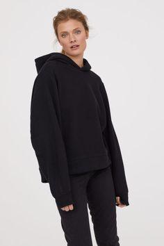 Худи - Черный - Женщины | H&M RU