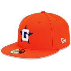 Greeneville Astros Authentic Road Fitted Cap - MLB.com Shop
