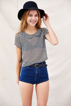 One & Only X Urban Renewal Peter Pan Collar Blouse - Urban Outfitters