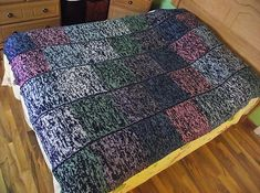 Ravelry: Simple Squares Afghan pattern by Tricots et créations Isabelle