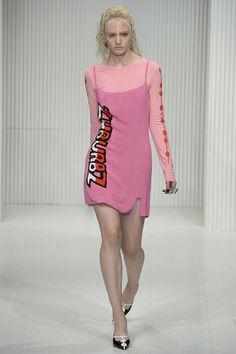 Ashley Williams SS15 #LFW #ThinkPink #pinkmonday
