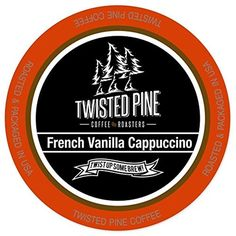 Twisted Pine Coffee Mocha Cappuccino Cappuccino, Single-Serve Cups for Keurig K-Cup Brewers, 12 Count: Rich Mocha Chocolate in this silky smooth cappuccino really satisfies. Enjoy this quick pick me up anytime of the day. Donut Shop Coffee, Coffee Store, Coffee Milk, Coffee Beans, Decaf Coffee, Coffee Pods, Coffee Candy, Coffee Drinks, English Breakfast Tea